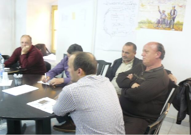 Training in Kichevo for persons with disabilities