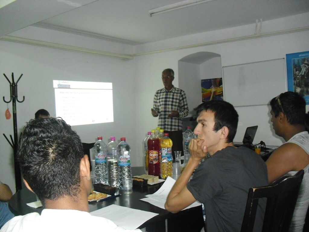Training on Job searching strategies for persons with disabilities