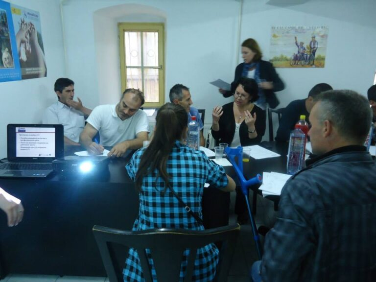 Training on Job Search Strategies for persons with disabilities