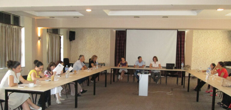 The second meeting of the Project Advisory Board